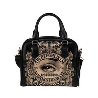 Mystic Eye Ouija Shoulder Handbag