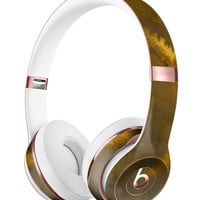 Micro Circular Golden Stains Full-Body Skin Kit for the Beats by Dre Solo 3 Wireless Headphones