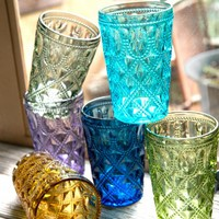 *Colorful Highball Glasses - 6 Colors*