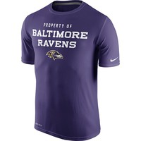 Nike Baltimore Ravens Legend Property Of Dri-FIT Tee