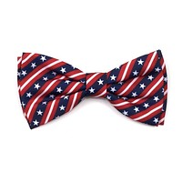 Red White and Blue Stars and Stripes Dog Cat  Bow Tie