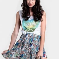The Lost Ones Pleated Skirt By MINKPINK