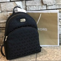 $348 Michael Kors ABBEY Backpack MK Handbag Bag