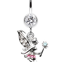 Magical Fairy Belly Button Ring