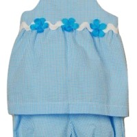 Funtasia Too - Girl's Popover Set - Turquoise (Only 3T Remaining)