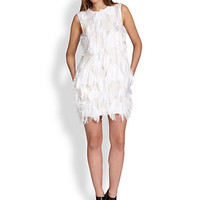 Faux Feathered Dress