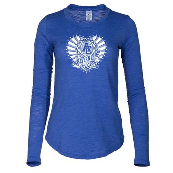 NCAA Alverno College  - ACRM2021 Women's Long Sleeve Slub Tee Shirt
