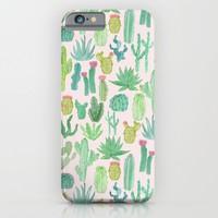 Cactus iPhone & iPod Case by Abby Galloway | Society6