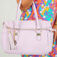 Carry On Purse: Lavender