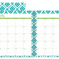 """Dabney Lee for Blue Sky """"Lucy"""" Large Tabbed Weekly/Monthly Wire-O Planner"""