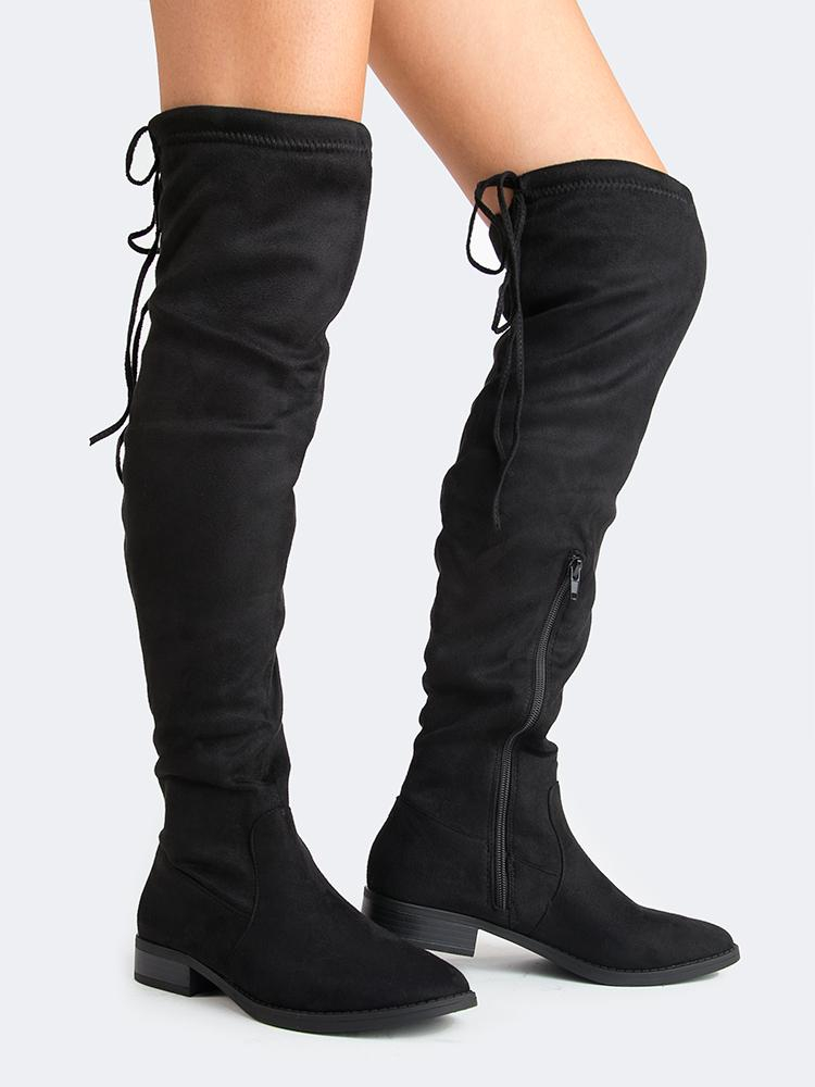 Image of Padded Over The Knee Boot