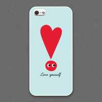 iPhone 4 /4s Case - LOVE YOURSELF, iPhone4 Case, Cases for iPhone4, iPhone4s Case, Cases for iPhone4s
