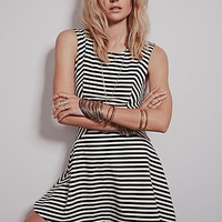 Free People Womens Cha Cha Dropwaist Fit and Flare