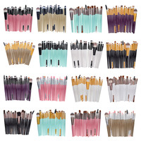 20pcs Professional Makeup Brushes Tools Foundation Brush kits Make Up Brushes Set For Eyebrow Face Contour Brand Beauty Cosmetic