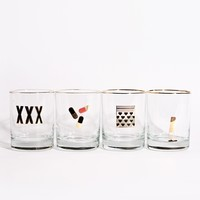 Vices Old Fashioned Glasses - Curiosities