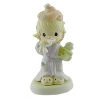Precious Moments BLESS YOU Porcelain Flu Season Cold 679879