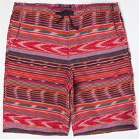 Fyasko Vagabond Mens Volley Shorts Mustard  In Sizes