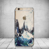 Paint iPhone 6 Case Clear iPhone 6s Case Clear iPhone 6 Case iPhone 5s Case iPhone 6s Plus Case Soft Silicone iPhone Case No: 64