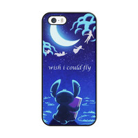 Hawaiian Culture In Stitch-Peter Pan Flying Quote iPhone 5|5S Case