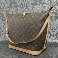 Rise-on LOUIS VUITTON MONOGRAM AMFAR THREE By Sharon Stone Shoulder Bag #9