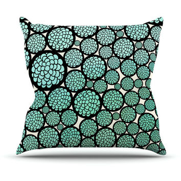 Blooming Trees Throw Pillow for your home decor
