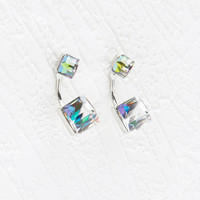 Faceted Prism Ear Jackets