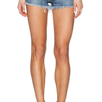 True Religion Joey Cut Off Short in Medium Drifter