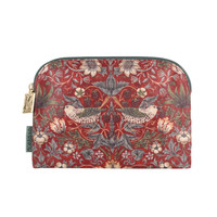 Small Strawberry Thief Cosmetic Bag