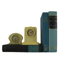 Decorative Book Set for Home Decor in Shades of Blue and Black