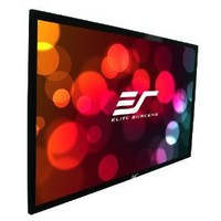 Elite Screens Sable Frame, 135-inch 16:9, Fixed Frame Home Theater Projection Projector Screen, ER135WH1