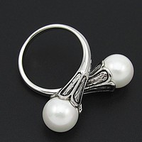 Daenerys Khaleesi Ring Game of Thrones Jewelry Vintage Pearl