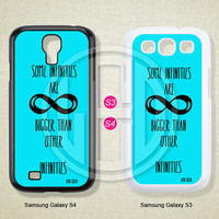 Infinite, Blue, Phone cases, Samsung Galaxy S3 Case, Samsung Galaxy S4 Case, Case for Samsung Galaxy, Cover Skin -S0730