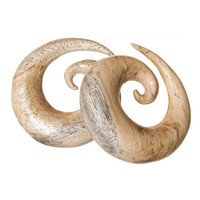 Tamarind Wood Spirals (6mm-22mm)