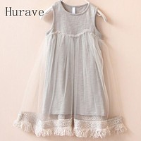 Baby Clothes Girl Dress Kids Children Tassel Dresses For Toddler Lace Princess Dress