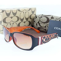 COACH Woman Men Fashion Summer Sun Shades Eyeglasses Glasses Sunglasses