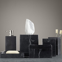 Black Marble Accessories Collection