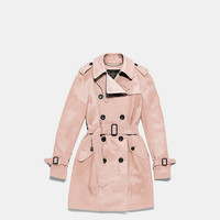 Satin Combo Trench