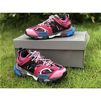 2019 Balenciaga Triple S Trainers Pink/Black Sneakers 35-45