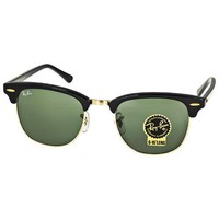Cheap Ray-ban Clubmaster Ebony Arista Sunglasses Rb3016w0365-51 In Black outlet