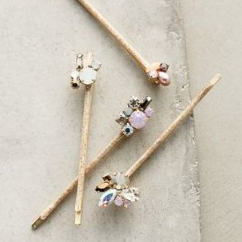 Coryphee Bobby Set by Anthropologie in Pink Size: One Size Hair