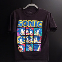 Vintage Sonic the Hedgehog tshirt