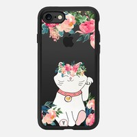 LUCKY SPRING CAT by Monika Strigel iPhone 7 Hülle by Monika Strigel | Casetify