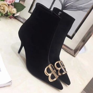 Balenciaga Women Fashion Casual High Heels Shoes