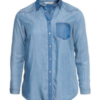 H&M+ Denim shirt - from H&M