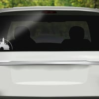 Disney Castle Decal - Disneyland Decal - Disney Sticker - Disney Vacation - Disney Castle Vinyl - Bumper sticker - Vinyl Decal - Car Sticker