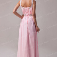 Women New Beaded Ball Gowns Evening Cocktail Bridesmaids Formal Prom Party Dress