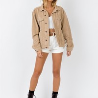 Western Cord Jacket | Princess Polly