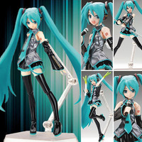 """New In Box VOCALOID Hatsune Miku Anime 1 8 Scale Painted Action PVC Figure 5.2"""""""