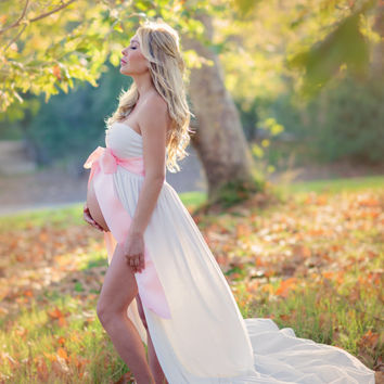 Jersey Maternity Gown Abigail Gown From Ibcboutique On Etsy
