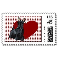 Stamp - Scottish Terrier from Zazzle.com